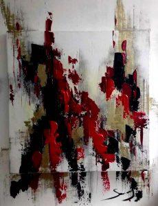 Blessure 4 - Série Blessures - 60 x 80 cm