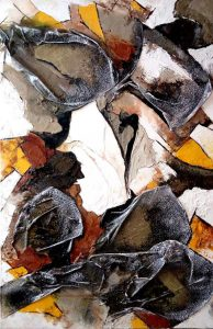 Ciel et terre 2 - Série Ciel et Terres - 80 x 120 cm