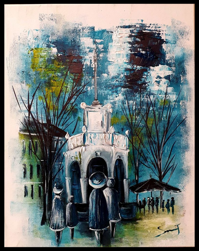 Perron monument Liégeois